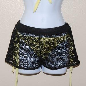 Cover Up Crochet Swim Bottoms
